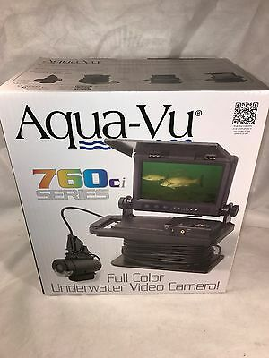 "Aqua-Vu 760ci High Quality 7"" Color Underwater Camera System AV760ci - NEW"