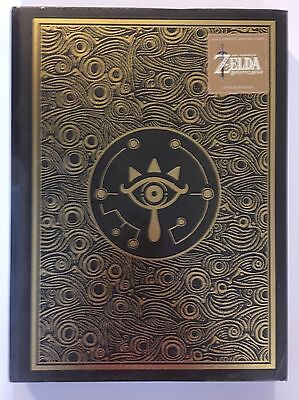 The Legend of Zelda Breath of the Wild Deluxe Edition Official Guide in Hands