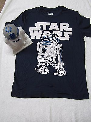 New - Collectible R2D2 figure, Mens Star Wars T-Shirt inside, (size - X-large)