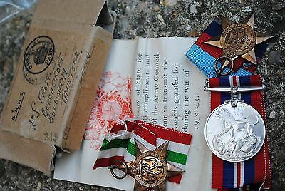 WW2 medal group in box