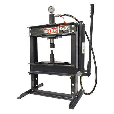 DAKE CORPORATION Hydraulic Press,10 t,Manual Pump, 36 In, 972200