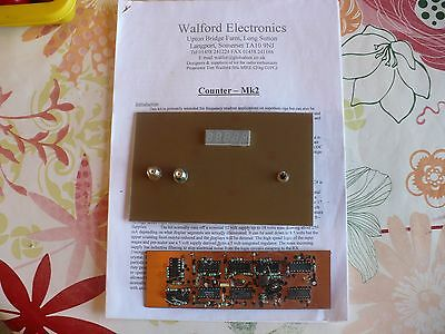 Walford Electronics 5 Digit Frequency Counter Kit Part Built