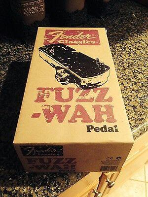 FENDER FUZZ WAH EFFECTS PEDAL RI REISSUE**Brand New Perfect**