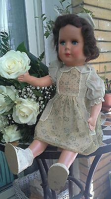 bambola anni 40 50  vintage old doll poupee