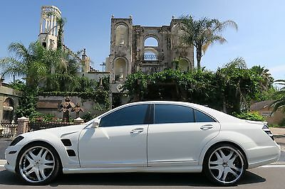 2007 Mercedes-Benz S-Class LORINSER/ASANTI PKG 4MATIC,PANO ROOF,ENTRMENT PKG WE FINANCE/LEASE,TRADES WELCOME,EXTENDED WARRANTIES AVAILABLE,CALL 713-789-0000
