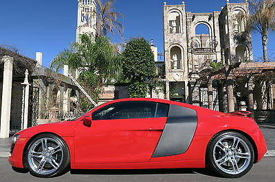 2009 Audi R8 LOW LOW MILES,LOTS OF OPTIONS,PRICED BELOW COST!!! WE FINANCE/LEASE,TRADES WELCOME,EXTENDED WARRANTIES AVAILABLE,CALL 713-789-0000
