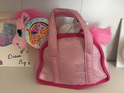 ❤Gigi Queen Sparkle Unicorn In Matching Carry Bang Choice Of 4 Colours Bnwt❤️
