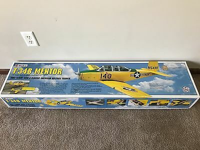Brand New in Box Top Flite T-34B Mentor 1/5 Scale RC Airplane Kit #TOPA0160 !!!