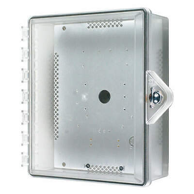 SAFETY TECHNOLOGY  Enclosure,Clear,Polycarbonate,Thumb Lock, STI-7521-HTR, Clear