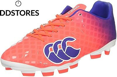 Canterbury Speed Club Blade, Chaussures de Rugby Homme, Rouge X20...