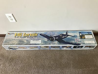 Brand New Great Planes .40 Size F4U Corsair Semi-Scale Sport Model Airplane!!!
