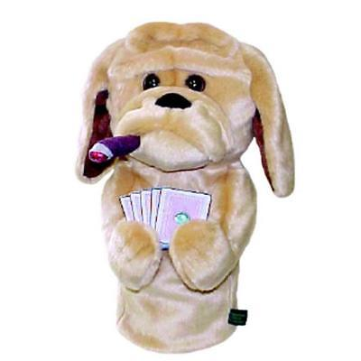 Poker Playing Hound Driver Head Cover
