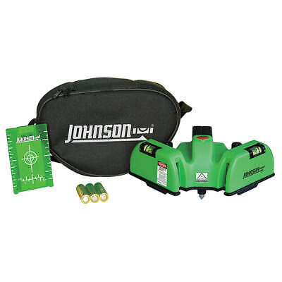 JOHNSON Line/Dot Laser Level,Int,Green,150 ft., 40-6622