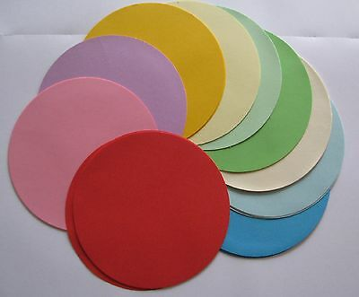 200 Coloured Paper Circles Kindy Origami Craft 8cm