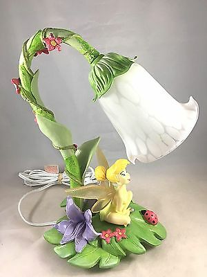 TINKER BELL FAIRY Disney Hampton Bay Tulip Ladybug Desk Night Table Lamp