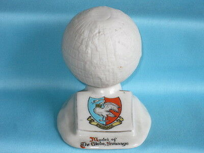 Carlton China 'Model Of The Globe, Swanage'* - SWANAGE crest