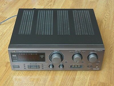 JVC RX-817V Stereo & Surround Sound Receiver with Remote Control, Phono Input
