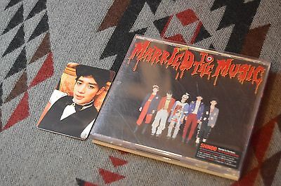Married To The Music - Shinee Album (With Minho Photocard)