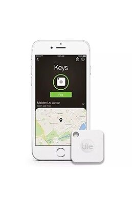 Tile Mate - Key Finder. Phone Finder. Anything Finder - 4-pack Pack Only
