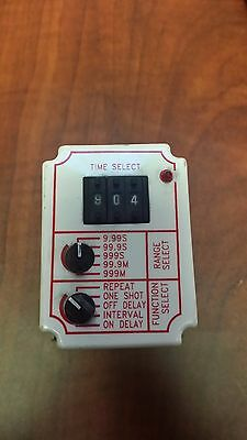 Dayton 6A855 Solid State Time Delay Relay 0.05 sec - 999 min Lightly Used