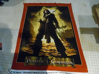 3' by 5' Disney Pirates of the Caribbean  Throw Promo Blanket