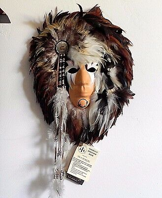Native American Indian SHAMANS MEDICINE MAN MASK The Eternal R W ADAMSON