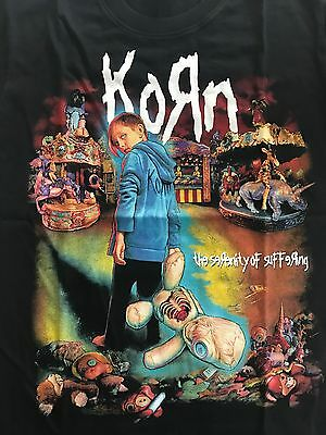 KORN - The Serenity of Suffering ( New ) T Shirt