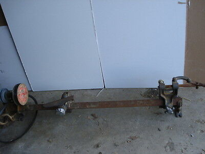 """AMT  Wood Lathe with 1 1/4"""" Square tube bed   6 inch"""