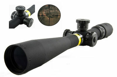 Deerhunter 8-32x44 Side Wheel Focus Mil-Dot Optics Rifle Scope Tactical Scope