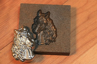 Horse Graphite mold for casting Silver Gold Glass Aluminum Parts4less1999
