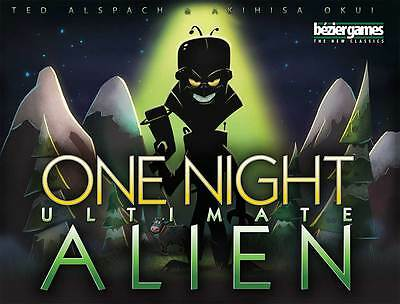 One Night Ultimate Alien - Board Game - New - Factory Sealed - Bezier Games