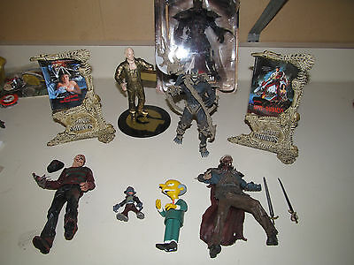 Lot of Action Figures Movie Maniacs Samurai Spawn Gold Member and More