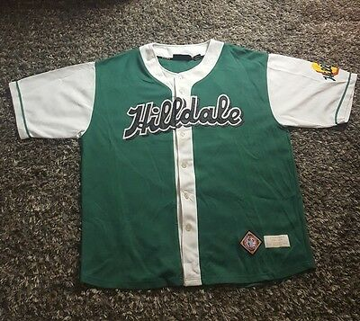 VINTAGE Negro League Baseball NLBM Hillsdale Athletic Club Darby Daisies Jersey)
