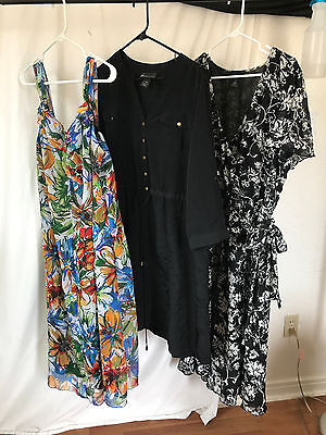 Lane Bryant Resale Lot of 7 Dresses Plus Size Womens Clothing Free shipping