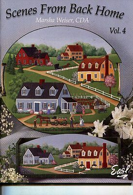 PAINTING BOOK - SCENES FROM BACK HOME VOL 4 by Marsha Weiser