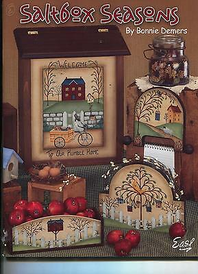 PAINTING BOOK - SALTBOX SEASONS by BONNIE DEMERS