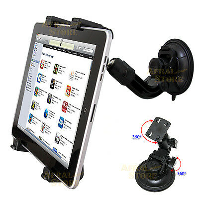 Car Tablet Holder For Samsung Galaxy Tab 10.1'' iPad PC Windscreen Suction Mount