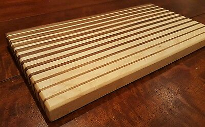 Butcher Block Cutting Board/Cheese Serving board solid wood
