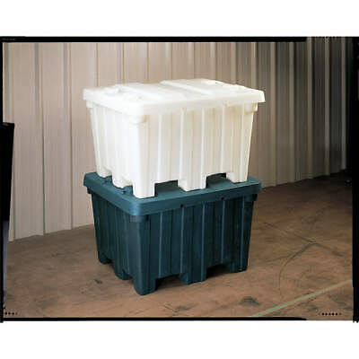 ORB High Density Polyethylene Bulk Container,48 In L,Gray, BC4842-30 GRAY., Gray