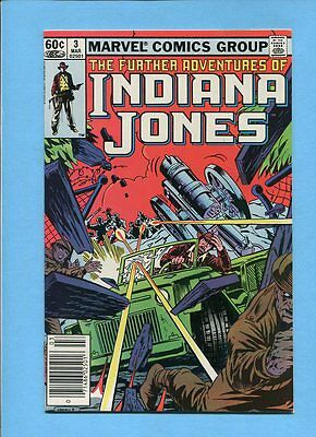 The Further Adventures of Indiana Jones #3 Marvel Comics March 1983 VF/NM