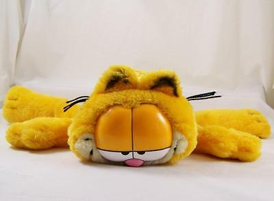Vintage 1978 Garfield the Cat Floppy Plush Fine Toy Stuffed Animal Laying 14""