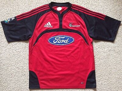 Crusaders Rugby Union Super 14 Team Jersey - Adidas - Mens Size XL
