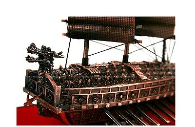Turtle Ship 1/500 Scale Yi Sun-Sin General Korea Warship Model Kit Brass