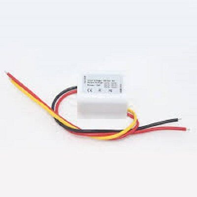 DC DC Converter 15W 12V Step Down to 6V 3A Power Supply Module Waterproof-White
