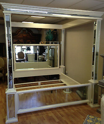 King Size Mirrored Bed
