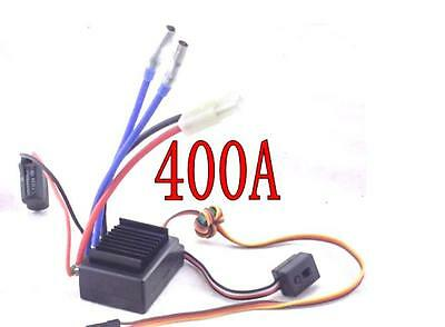 400A Brushed ESC 2S-4S Fits 1/10 1/8 Eelctric RC Cars Crawlers SCX10 SC Truck
