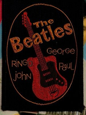 THE BEATLES Vintage Fan Club Patch 1964 MUSIC Rare ROCK N ROLL Collectable
