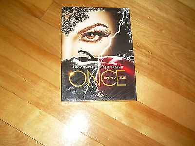 Complete Sixth Season 6 Six Sealed ONCE UPON A TIME (DVD, 2017, 5 DISC SET, ABC)
