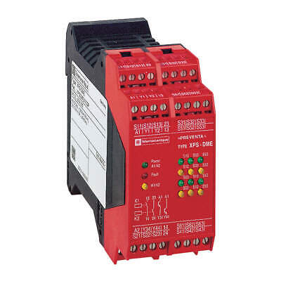 SCHNEIDER ELECTRIC Safety Monitoring Relay,2NO/2SS, XPSDME1132P