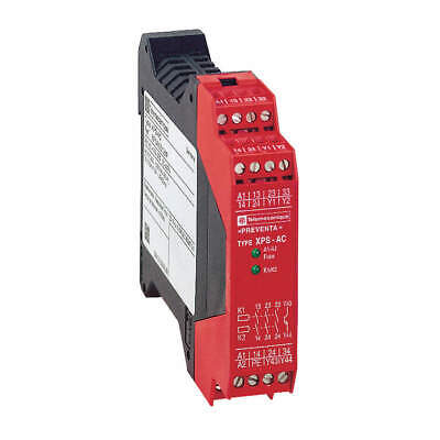 SCHNEIDER ELECTRIC Safety Monitoring Relay,120VAC,7.0VA, XPSAC3421P